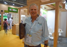 Peter Ingram from Lee McKeand, was visiting the show.