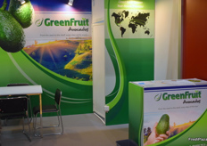 The GreenFruit booth