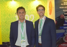Mauro Santos and Fausto Carvalho from the Portugese company Calibra Fruta