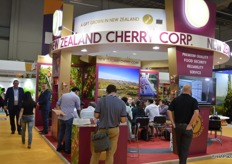 New Zealand Cherry Corp had an impressive stand.