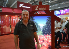 Alan Pollard was there for the New Zealand Apples and Pears.