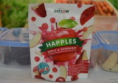 Batlow brought along a new product Happles - raspberry flavoured apples slices. They will go into production in December.