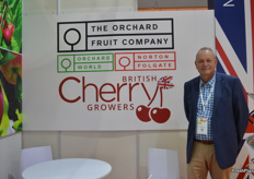 There was a UK pavillion for the first time at Asia Fruit Logistica - Mark Culley was there representing The Orchard Fruit Company, who are exporting apples and cherries into Asia.