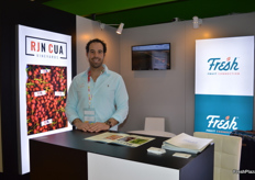 RJN Cua were also there for the first time with their new company name and brand Fresh Fruit Connection - Frank Cua.