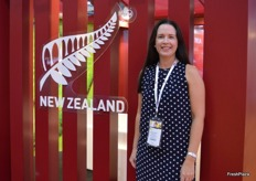 Leanne Stewart was representing Hort New Zealand who help facilitate the New Zealand pavilion.