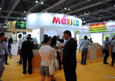 Again this year Mexico was present with a selection of exporters.