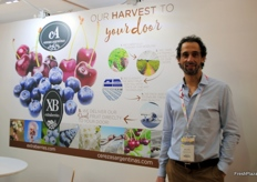 Matias Notti from both companies Cerezas Argentina and Extraberries.