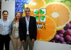 Also this year, the team of Trebol Pampa Argentina is present at the Asia Fruit Logistica.