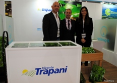 Patricio Elgarrista, Pablo Carreras and Belen Ferrer from the Argentinian company Vincente Trapani.