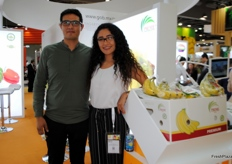 Waiting and hoping for the Chinese market to open soon for Mexican banana export. Javier and Nicté Manrique from Prime Fruits.