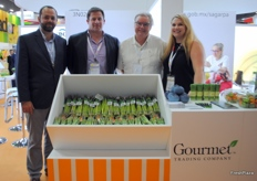 The team from Gourmet Trading company, known for their green asparagus export.