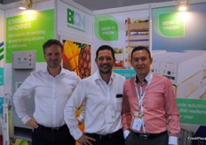 Toine Walraven, Brent Rogers and Kent Lee from Bio Conservacion.