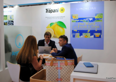 Also present from Mexico promoting the lemon export was the company FGF Trapani.
