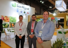 Andries Du Preez, Andres Haloua and Ronald Ferreira from San Miguel, Argentina.