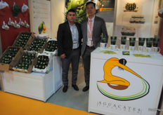 Aguacates Tingüindin, Mexican avocado company. First time exhibiting at the exhibition, hoping to stimilate the avocado export from their region into China and the rest of the world.