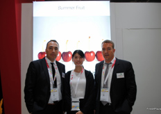 Summer Fruit, one of the Spanish companies on the Spanish pavillion which is growing each year.