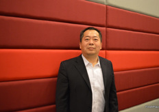 Zhang Qun, Head of Financial Service & Sales, from Fresh Port Co., Ltd.