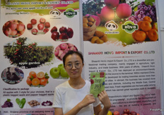 Daisy (Export Department Sales Manager) from Shaanxi HoVo Import & Export Co., Ltd.