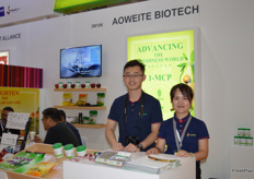 Dong Li and Yue Yang from Aoweite Biotech.