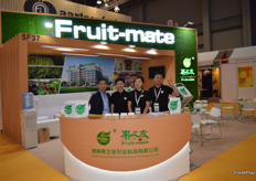 Luquitas Yuan, Josephine Jiang of Hunan Fruit-mate Agrictultural Science & Technology (Group) Co., Ltd.