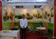 Oliver Wang, Sales manager of Guanxian Dongyuan Agricultural Product Co., Ltd.