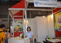 Shelly Chou from RIC International Corp.