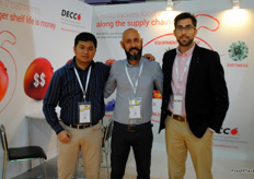 The team of Decco, Spanish company. As well their first time exhibiting at the exhibition
