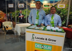 The company Locate and grow, fresh produce from South America presenting their different brands.