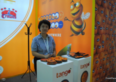 Co exhibiting with Sun Pacific is Tango, a Spanish company.