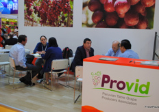 Besides the exporters that Peru brought to the fair, as well each exhibition it's possible to meet people from different associations such as Provid, ProHass, Procitrus and ProArándanos.