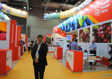Victor Sarabia from PromPeru, always present at the Asia Fruit Logistica to make sure it all goes well.
