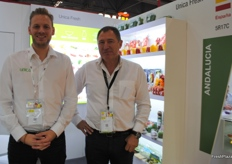 Nils Angelike and Jesus Aragon Garcia from Unica Fresh, Spain.