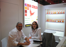Frutas Felix, Spanish company promoting their brand Fenix Flame.