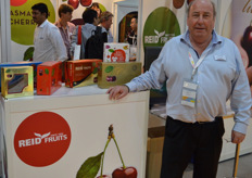 Tim Reid from Reid Fruits, confirmed that he is no longer selling the company but is indeed expanding the cherry acreage.