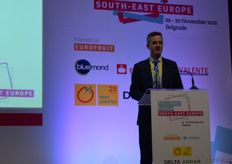 Introduction and welcome to the Fruitnet Forum South- East Europe by Mike Knowles, from Eurofruit.