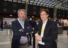 Alexandre Pierron-darbonne from Planasa and Harold Huot from Surberry.