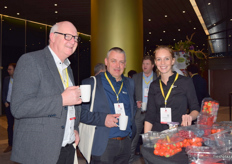 Remco Huverman and Bart Sels from Koppert and Dianne Bouman from Sismatic.