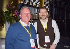Danny Nightingale from T&G Global and Jamie Smith from James Hutton.