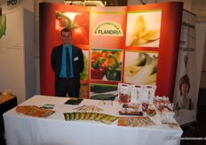 Tom Premereur (REO Veiling) at the Flandria stand