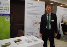 Frederik Callene shows the possibilities of products and information sharing via FTrace
