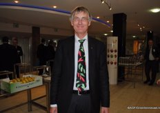 The man with the nicest tie of the day - Horst Rieper from Schwassfrucht.