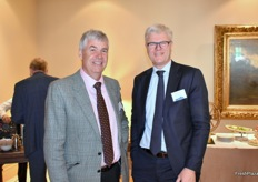 Richard Baker (HZPC UK Limited) and Peter Ton (Stet Holland)