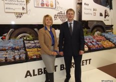 Anne Rogers and Tim Hammond at Albert Bartlett, the company is making good progress in the US and also starting up in Australia.