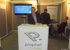 Mick Heatherington at the Prophit stand.