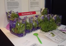 Nominee Fruit Logistica Innovation Award 2014. Home Harvest Salads- Oriental Mixed Living Salad is a mixture of salad leaves available straight from the growing pot to the table. The mixture includes coriander, mustard, tatsoi and pak choi.