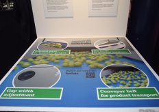 Nominee Fruit Logistica Innovation Award 2014. The grape destemming machine is the first machine to remove grapes neatly and carefully automatically from their stalks.