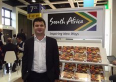 Jacques Du Preez from HortGro, South Africa.