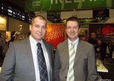 Jeremy Baraclough and Jonathan Caisley from BioFresh.