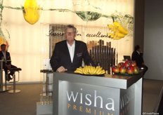 Hugo Isler for Wisha, Czech Republic. Wisha wants to give the consumers the best exotic fruits.