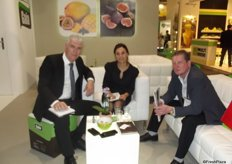 Berto Levy and Iris Zarfin from Gaia Herbs and Wolfgang Breisser